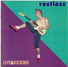 Restless - Live & Kicking - Neo-Rockabilly ABC 1987 VG/VG+